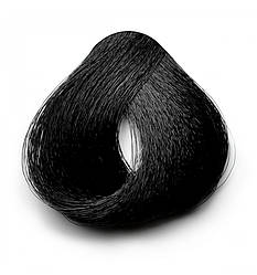 Безаммиачная краска для волос Brelil Colorianne Essence, 100 мл 1/00 Черный