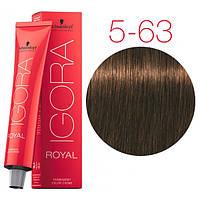 Schwarzkopf крем-краска для волос Igora Royal Chocolates 5-63 светло-коричневый шоколадный матовый