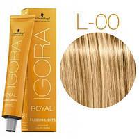 Schwarzkopf IGORA ROYAL Fashion Lights Оттенки для цветного мелирования L-00 блонд натуральный