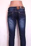 Жіночі джинсові штани оптомі в роздріб, фото 5