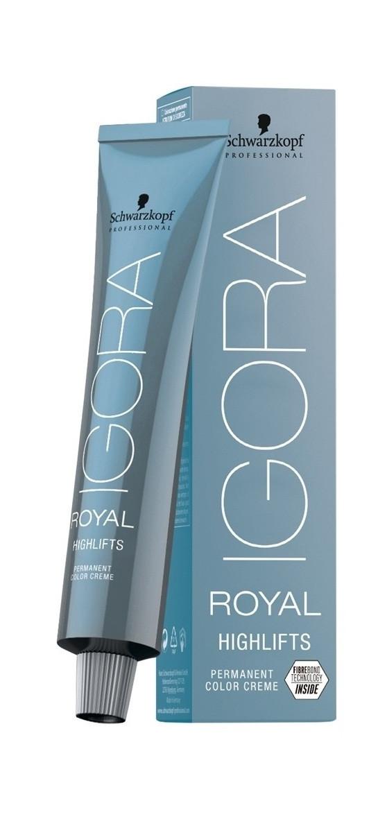 Schwarzkopf Igora Royal Highlifts Оттенки блонд с технологией Fibre Bond 10-46 ультра блондин беж