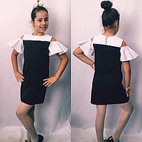 Детское школьное платье-сарафан #719 в расцветках, фото 1