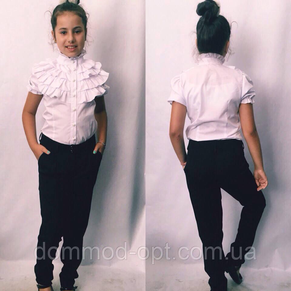 Дитяча блузка з коротким рукавом №724