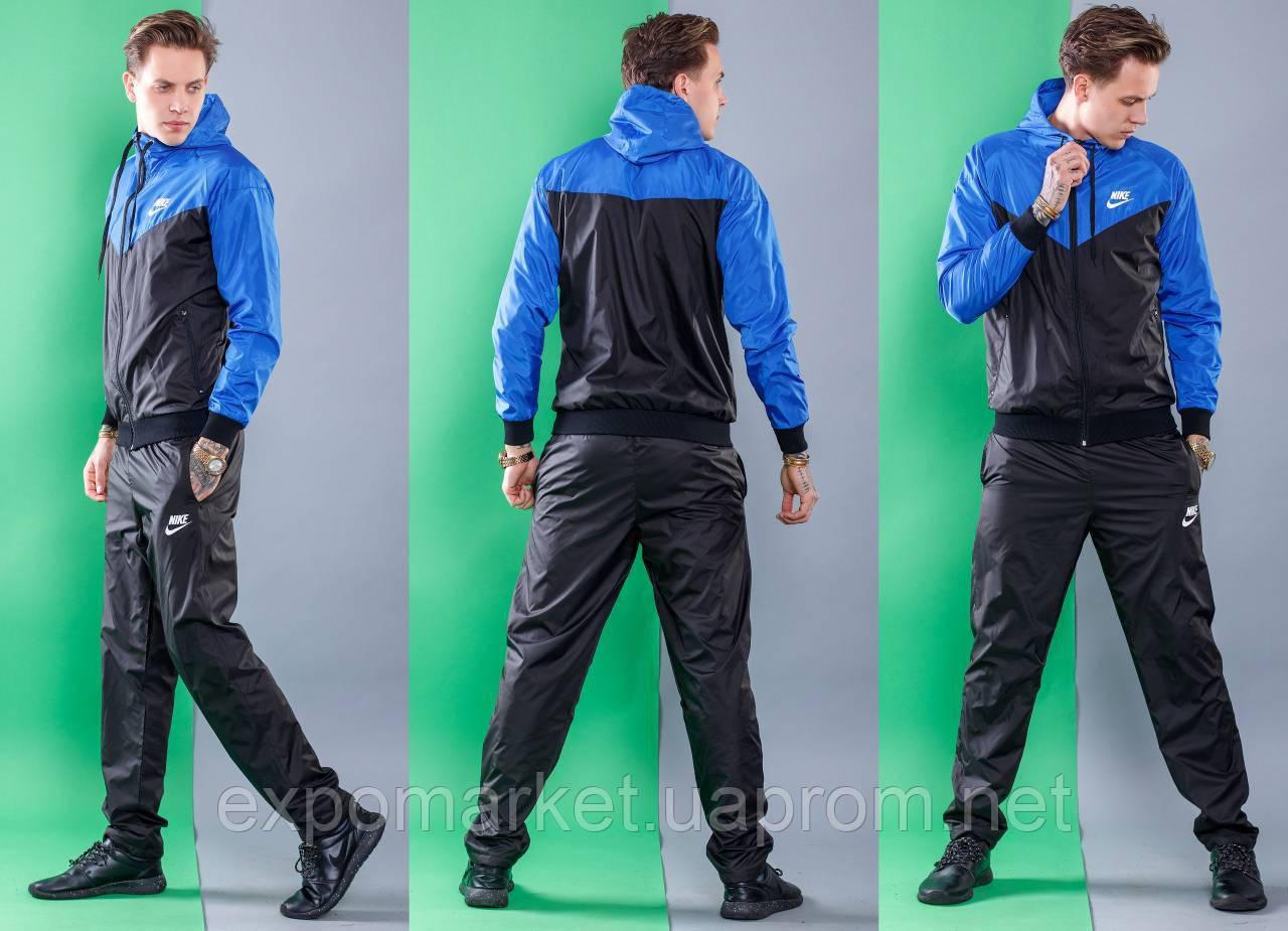 Мужской спортивный костюм Nike, плащевка весна-лето