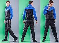 Мужской спортивный костюм Nike, плащевка весна-лето , фото 1