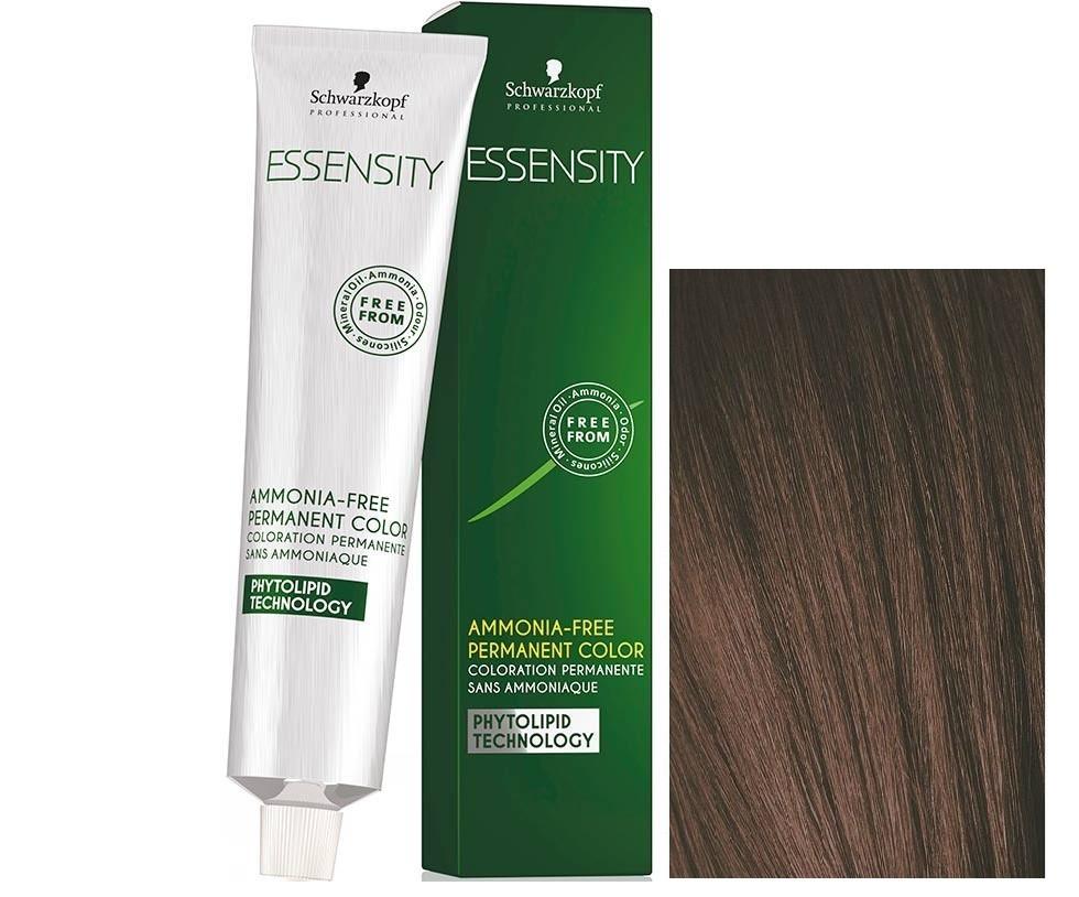 Schwarzkopf ESSENSITY Перманентная крем-краска для волос без аммиака 6-68 темно-русый шоколадный красный