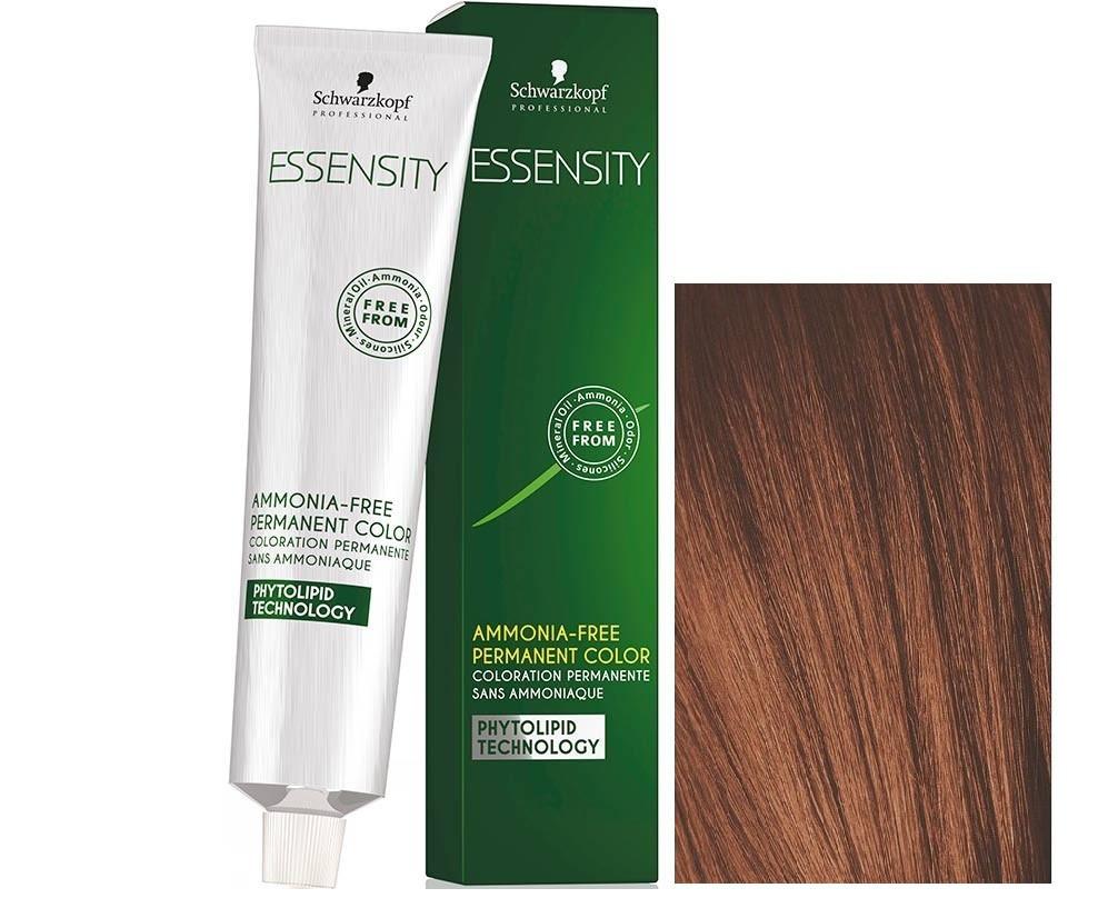 Schwarzkopf ESSENSITY Перманентная крем-краска для волос без аммиака 5-7 светло-коричневый медный