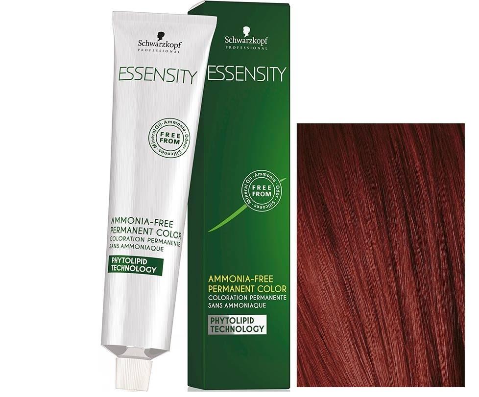Schwarzkopf ESSENSITY Перманентная крем-краска для волос без аммиака 5-87 осенний лист красный медный