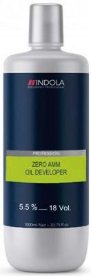 Indola ZERO AMM COLOR Лосьон-проявитель на масляной основе 5,5%, 1000 мл
