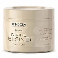 Indola Divine Blond Treatment маска для светлых волос, 200 мл