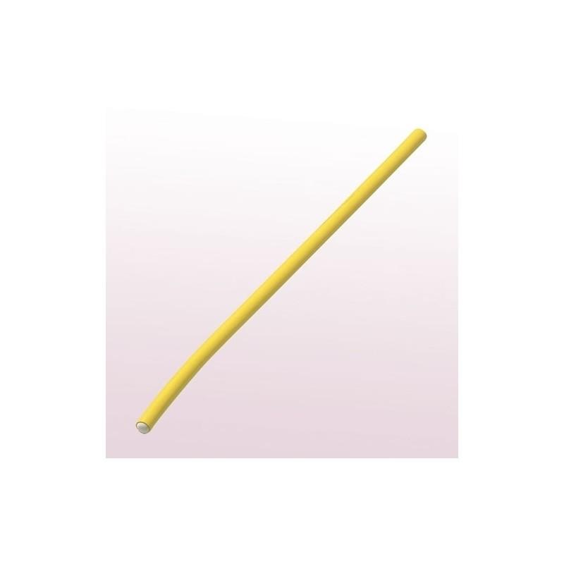 Comair Бигуди Flex желтые ( уп.6 шт.), длина 254 мм, d 10mm