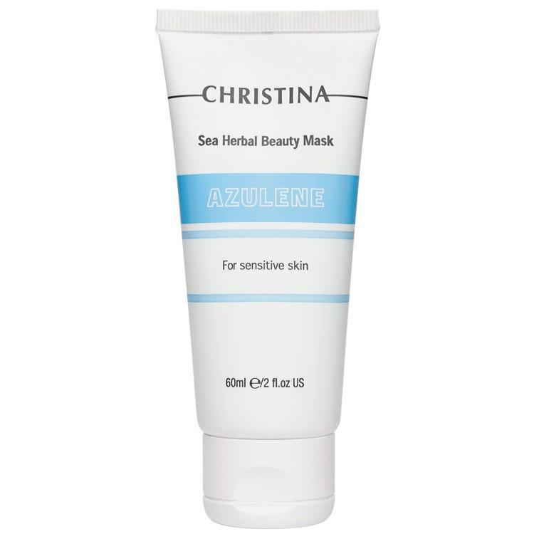 CHRISTINA ElastinSea Herbal Beauty Mask Azulene for sensitive skin - Маска красоты для чувств кожи, 60 мл