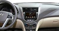 Штатная магнитола Hyundai ACCENT 2011+