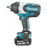 Гайковерт Makita DTW1002RTJ аккумуляторный с ударом (DTW1002RTJ)