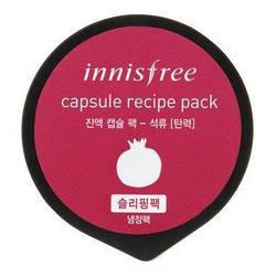 INNISFREE Capsule Recipe Pack POMEGRANATE Мини-маска на основе экстракта граната