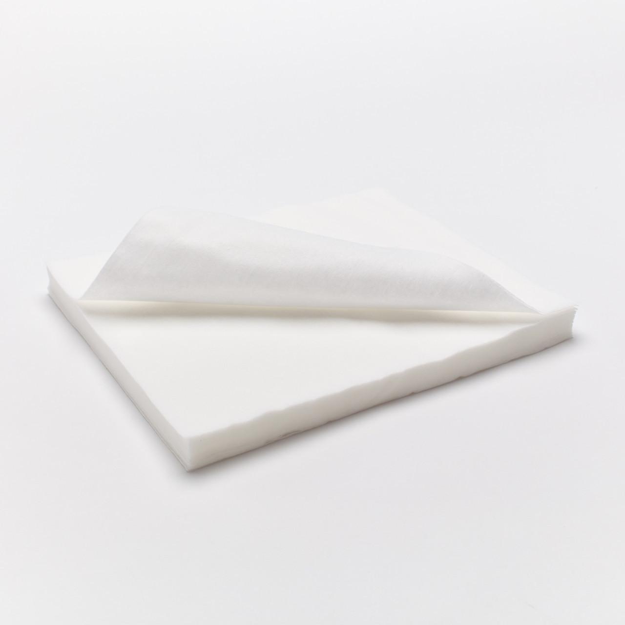 ТЕХНОКОМПЛЕКС Салфетки 20*20см спанлейс, 40г/м кв.,сетчатая стр., белые, 100 шт/уп