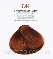 Brelil COLORIANNE Classic Крем-краска, 100 мл 7.44 Блондин интенсивно-медный