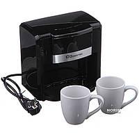 Кофеварка + чашки Domotec (MS-0708)