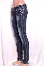 Женские узкие джинсы с низкой посадкой А061, фото 2