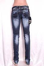 Женские узкие джинсы с низкой посадкой А061, фото 3