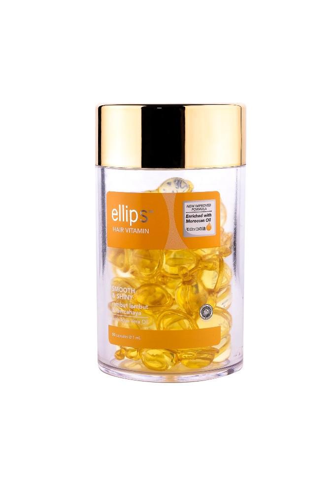 Ellips Витамины для волос «Роскошное сияние» с маслом Алоэ Вера 50шт*1ml