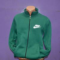 Мужская толстовка Nike зеленого цвета с замком