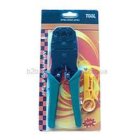 Клещи обжимные atcom 8p6p4p ou bao tool blister