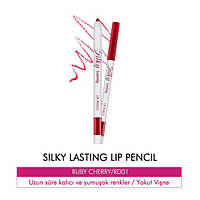 Автоматический карандаш для губ Missha Silky Lasting Lip Pencil RD02 - M5015