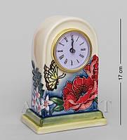 Фарфоровые настольные часы Цветущий сад 17 см JP-852/12