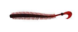 Силикон Nomura Sensum Worm (съедобный) 100мм 1,6гр. цвет-007 (bloody red) 12шт