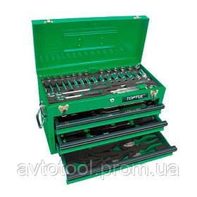 Ящик с инструментом 3 секции 82 ед., GCAZ0016 TOPTUL