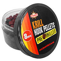 Пеллетс насадочный Dynamite Baits Pre-Drilled Hook Pellets Krill 8mm 150g