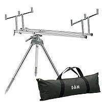 Подставка DAM Alu Rod Pod для 3 удилищ длина 68-109см