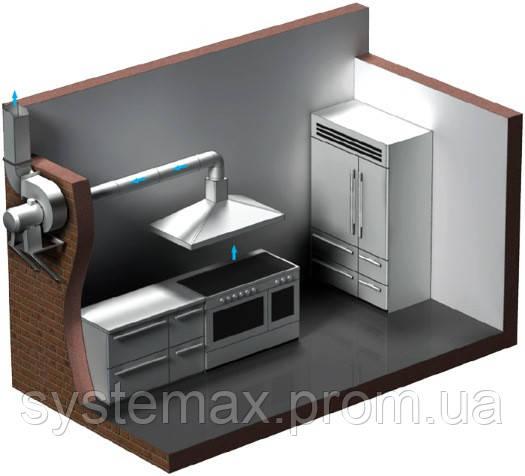 Пример установки вентилятора ВЕНТС ВЦУН