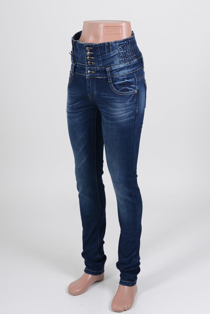Джинсы женские  с корсетом (26,27 размеры есть в наличии)