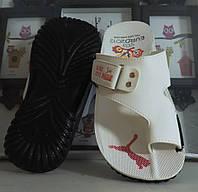 Мужские сандалии (шлепанцы) на палец. Puma - реплика., фото 1