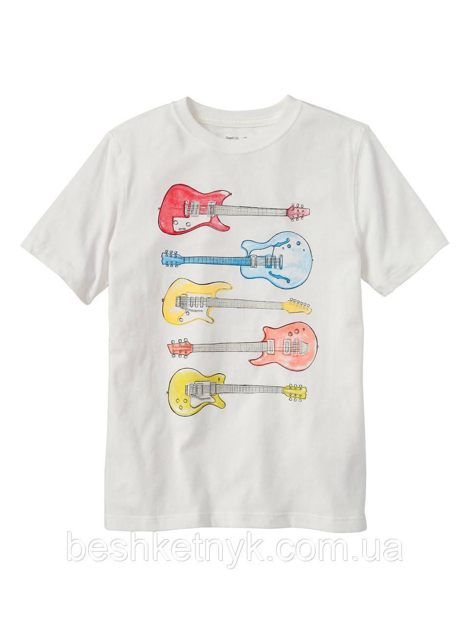 Футболка з гітарами
