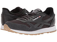 Кроссовки Reebok Lifestyle Classic Leather ESTL Coal/White/Washed Blue - Оригинал