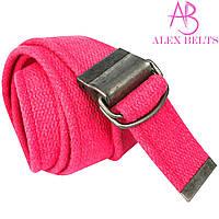 Ремень тканевый затяжка (розовый) 40 мм-купить оптом в Одессе