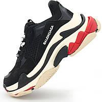 Женские черно белые кроссовки Balenciaga. Топ качество - Реплика р.(36, 38)