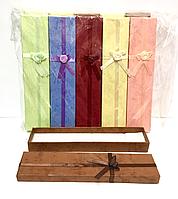 Подарочная коробочка, 21х4,5х2см,21195