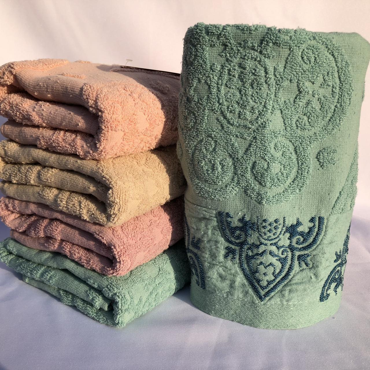 БАННОЕ махровое полотенце. Качество. Махровые полотенца оптом 104-1