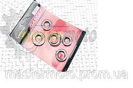 Сальник двигателя для скутера Ямаха JOG 50, к-кт 6шт