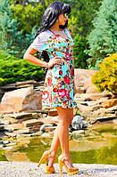 Летнее свободное платье Д-1501