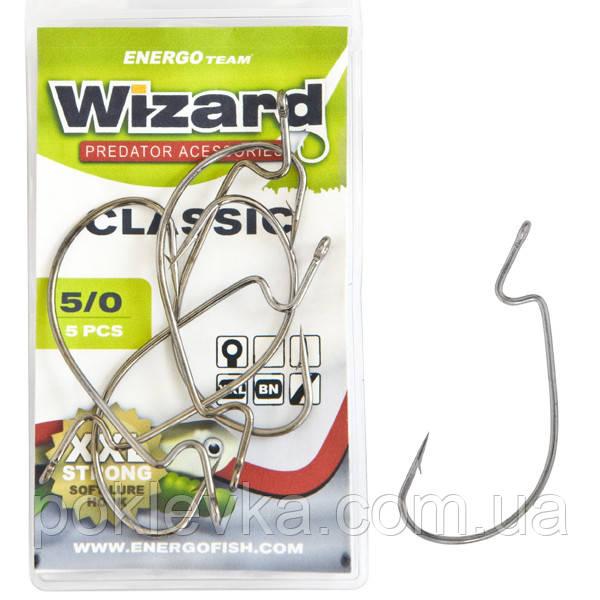 Крючок Wizard Classic Worm 1/0# 6 шт