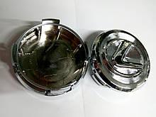 Комплект колпачков в колесные  диски Lexus 62 мм / 60 мм