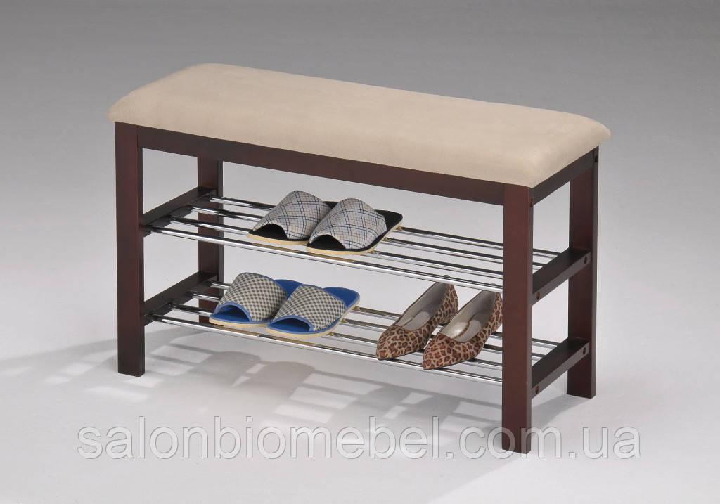 Скамейка для обуви W-09  венге