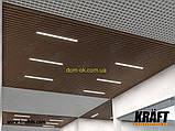 Кубообразная рейка ширина профиля 88 мм RAL 7024 (графит) высота -55 мм, фото 8