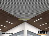 Кубообразная рейка ширина профиля 88 мм RAL 7024 (графит) высота -55 мм, фото 9