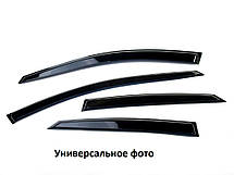 Вітровики Peugeot 408 Sd 2012  Дефлектори вікон Пежо 408 Сд 2012